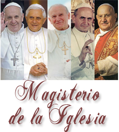 Documentos del Magisterio de la Iglesia